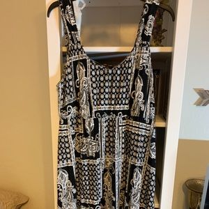 Style & Co asymmetrical dress size XL